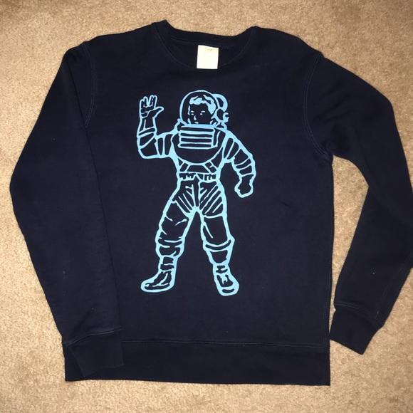 6db497b8dd8 PRICE Drop! BBC Navy ASTRONAUT Crewneck Sweater